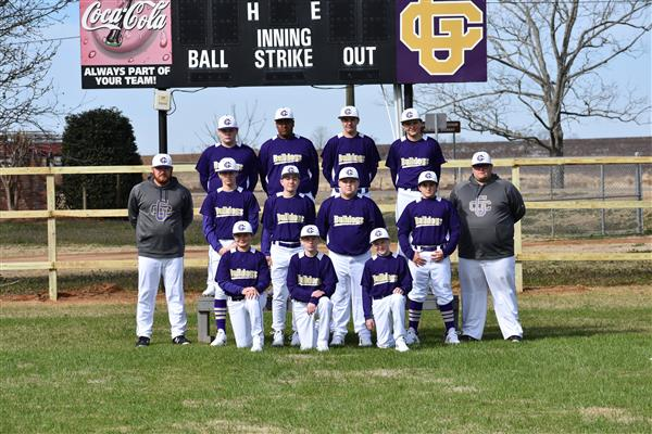 Junior Varsity Baseball Team