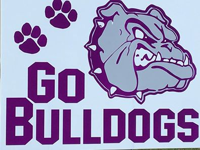 Bulldog Yard Sign